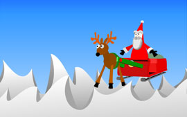 Christmas 2002 Flash Animation
