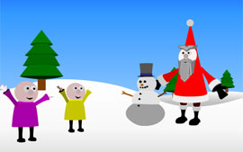 Christmas 2001 Flash Animation