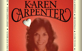 Voice Of the Heart - Poster for live show based on the life of Karen Carpenter by Full House Productions