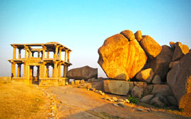 The ruins of Vijayanagara, Hampi, India