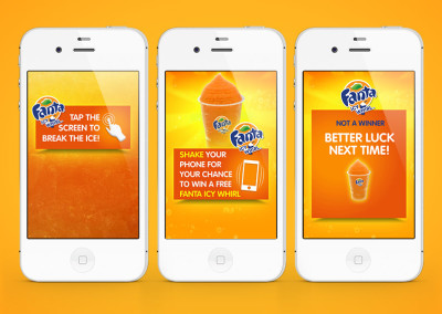 Fanta Icy Whirl Competition