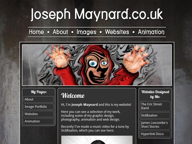 My 2010 Website