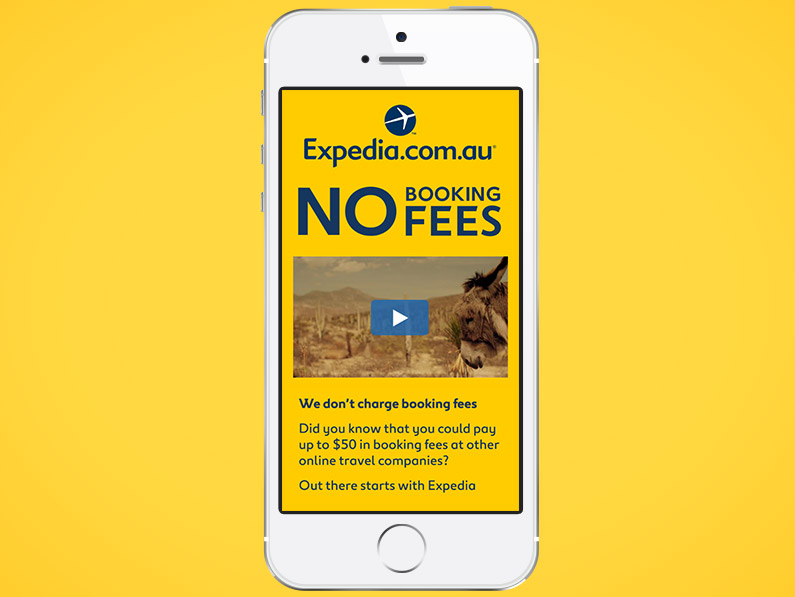 Expedia No Booking Fees
