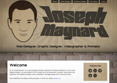 My 2012 Responsive Website