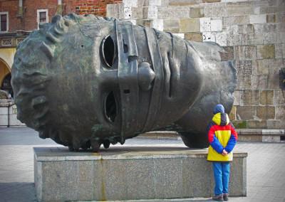 Eros Bendato Sculpture