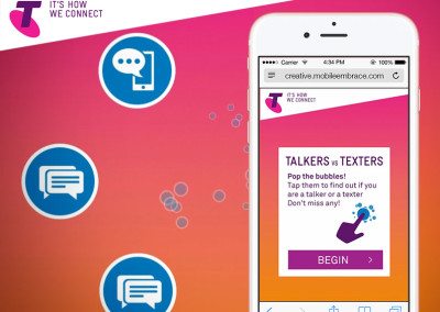 Telstra Talkers VS Texters